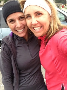 we represent athleta well... post run, post coffee gab fest