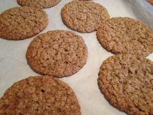 "somewhat 'healthy"" (whatever) oatmeal cookies"