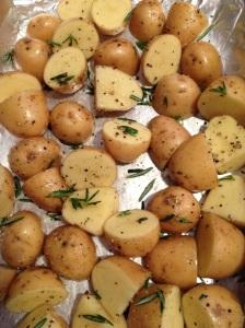 pre baked potatoes